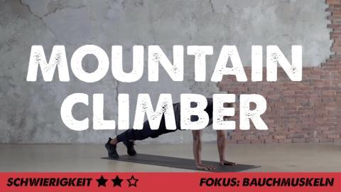 Mountain Climber: 2 Varianten für mehr Cardio und die schrägen Bauchmuskeln