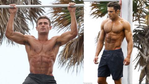 Zac Efron: So trainiert er seine Brustmuskeln und Schultern