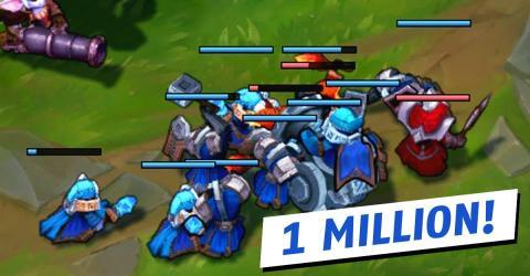 League of Legends: So sieht eine Partie mit einer Million Ping aus