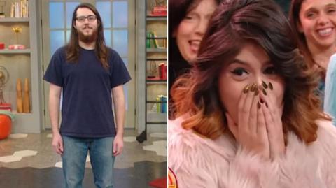 Nerd geht in TV-Show, um sich komplett zu verwandeln. Seine Freundin kann das Ergebnis nicht fassen!