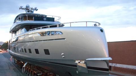 14 Millionen Euro teure Yacht von Porsche