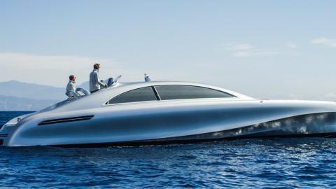 Schwimmender Luxus: Mercedes-Yacht lädt zum Träumen ein