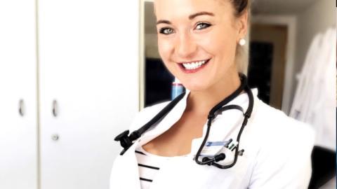 Diagnose: Hitzeschub! So schön ist Deutschlands heißeste Ärztin!