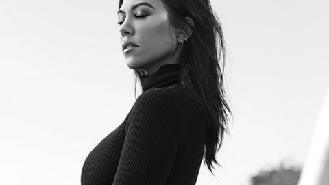 Kourtney Kardashian: Heißes Shooting ganz ohne Unterteil!