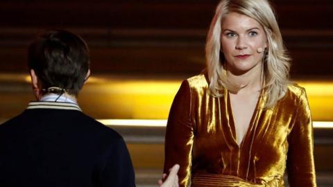 Sexismus bei Fußball-Gala: Siegerin soll mit dem Hintern wackeln