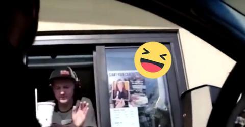 Zwei Freunde legen eine McDonalds-Mitarbeiterin rein... und werden dies bereuen!