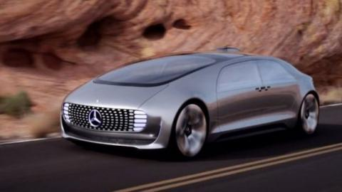 Mercedes F015: Das ultrafuturistische Modell ohne Fahrer, wurde auf der CES 2015 vorgestellt.