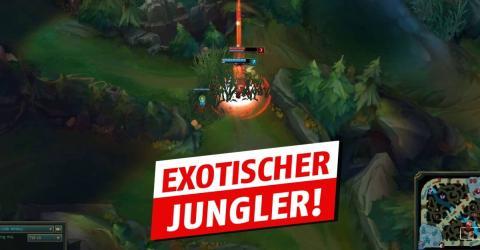 League of Legends: Dieser Spieler ist von Gold auf Diamant aufgestiegen, indem er diesen Midlane-Champion im Jungle spielt
