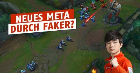 League of Legends: Faker überrascht erneut mit einem ungewöhnlichen Pick auf der Midlane