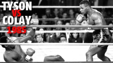 Boxen: Das schnellste K.O. von Mike Tyson und seiner gesamten Boxkarriere im Kampf gegen Robert Colay