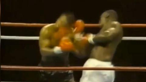 Das umhauende K.O. von James Douglas gegen Mike Tyson, die größte Überraschung der Boxgeschichte