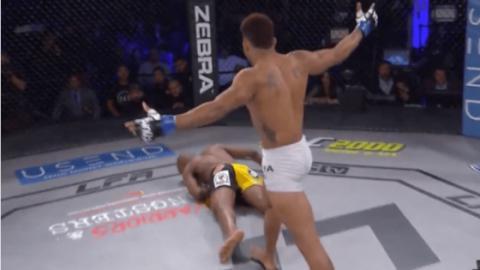 MMA: Unfassbares KO mit nur einem einzigen Schlag!