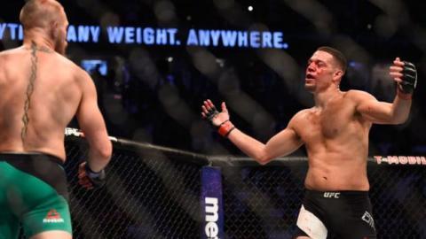 Nate Diaz verrät,was er Conor McGregor während des Kampfes gesagt hat