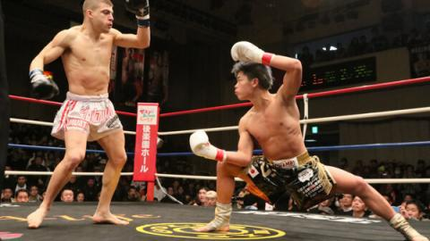 Japanischer Kickboxer gilt als künftiger MMA-Star!