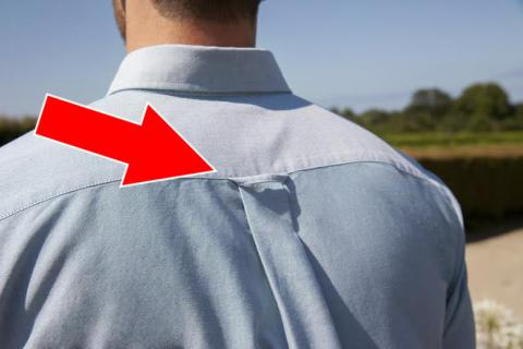 Hemden: Das ist der Sinn hinter der Lasche am Rücken