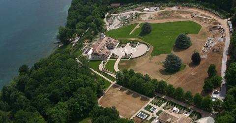 Michael Schumachers Villa am Genfer See wird bedrängt. Doch seine Familie wehrt sich