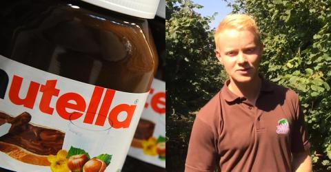 Deutscher Landwirt greift Nutella an
