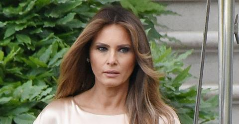 Melania Trump sorgt mit teurem Kleid für Empörung