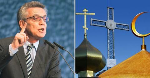 Innenminister de Maizière offen für muslimischen Feiertag in Deutschland
