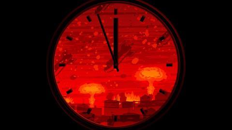 Atomkriegsuhr: 2018 noch näher dran an Mitternacht