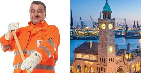 Hamburg benennt Platz nach verstorbenem Straßenfeger!