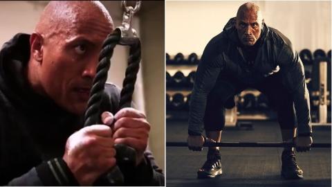 The Rock verrät euch in seinem neuesten Video seine 6 Lieblingsübungen für den Oberkörper