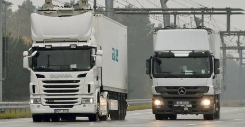 Uralt-Technik soll Elektro-LKW auf deutsche Autobahnen bringen