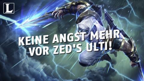 League of Legends: So dodgt ihr Zeds Ulti mit Pantheon ohne Item