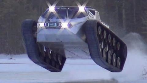Ripsaw EV2: Das Offroad-Monster, das niemand aufhalten kann!