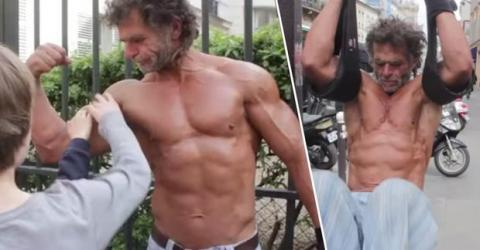 Jacques Sayagh: Die unglaubliche Geschichte eines Pariser Obdachlosen, der zum Bodybuilder wurde