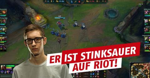 League of Legends: Wegen Mid-Season-Patch! Bjergsen attackiert Riot