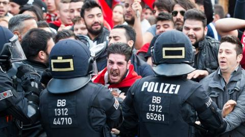 """Schwere Vorwürfe nach Erdogan-Besuch: """"Die deutsche Polizei hat sich verarschen lassen"""""""