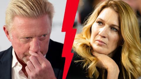 Boris Becker: So verscherzt er es sich mit Steffi Graf