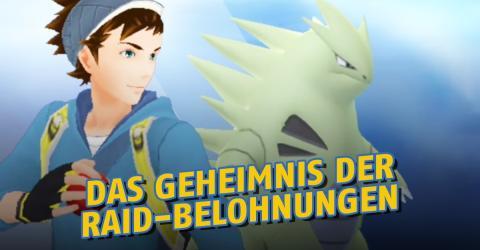 Pokémon GO: So werdet ihr bei den Raids belohnt
