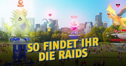 Pokémon GO: Mit dieser App wisst ihr, wo die Raids stattfinden