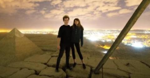 Skandal um Weltwunder: Paar filmt sich bei schmutziger Aktion auf der Cheops-Pyramide