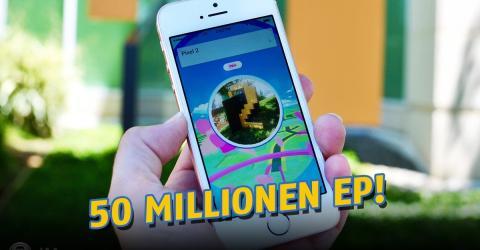 Pokémon GO: Dieser Spieler sammelt 50 Millionen Erfahrungspunkte!