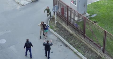 Russland: Soldat will Frau retten, doch macht einen entscheidenden Fehler