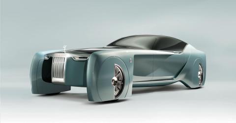 Rolls-Royce 103EX: Ein Luxusfahrzeug der Zukunft
