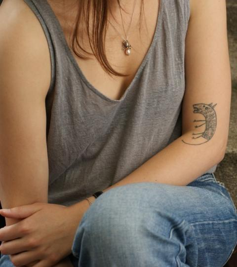 Frauen oberarm tattoos Tattoo Oberarm: