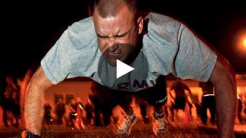 Das beeindruckende Krafttraining der US-Soldaten