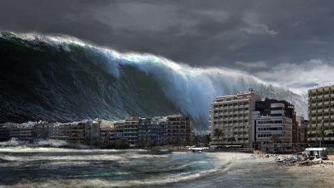 Ein möglicher Tsunami bedroht gleich mehrere Städte in Europa