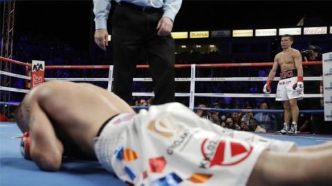 Boxen: Gennady Golovkin siegt per KO in der 2. Runde gegen Vanes Martirosyan