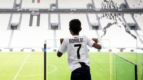 Christiano Ronaldo Junior versetzt alle in irre Aufregung bei Juventus