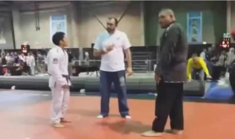 Jiu-Jitsu: Wer wird diesen ungerechten Kampf gewinnen, David oder Goliath?