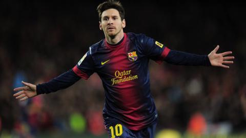Lionel Messi dominiert noch immer die Klasse der teuersten Fußballspieler