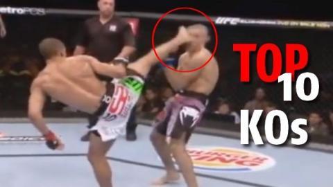MMA: Top 10 der spektakulärsten KOs