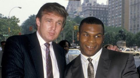 Als Mike Tyson überzeugt war, seine Frau habe ihn mit Donald Trump betrogen