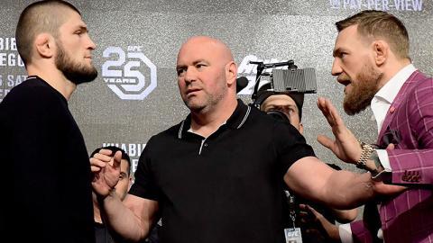 Khabib Nurmagomedow warnt Conor McGregor davor, nach Abu Dhabi zu kommen