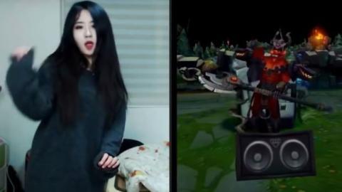 League of Legends: Eine junge Südkoreanerin imitiert die Tänze der Champions perfekt